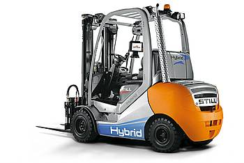 Ultracaps in forklifts: Still RX_70-30 Hybrid